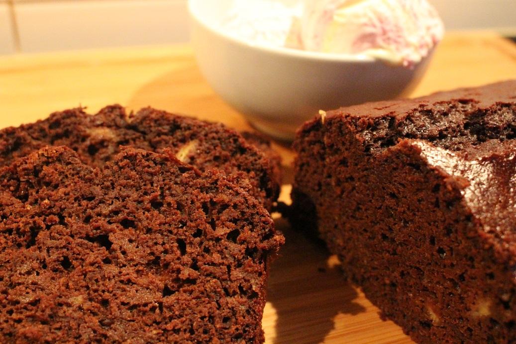 Low-fat Chocolate Banana Cake - Seemology
